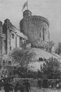 The Round Tower Windsor Castle, 1887 by Axel Herman Haig