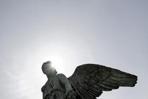 Angel's Wing, Statue, Copenhagen, Denmark, Scandinavia by Axel Schmies