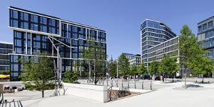 Company Building KŸhne Und Nagel, Marco Polo Terraces, Hafencity by Axel Schmies