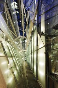 Details, Modern Architecture, Neues Kranzler Eck, KurfŸrstendamm, Kudamm by Axel Schmies