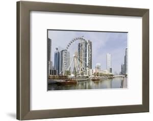 Ferris Wheel 'Eye of the Emirates' at the Amusement Park 'Al Qasba', Emirate of Sharjah by Axel Schmies