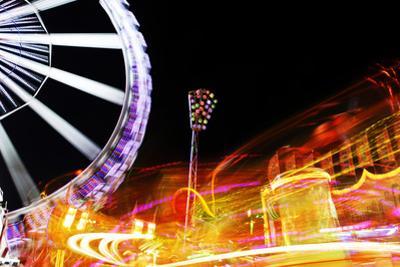 Hamburg Dom, Carousel, Amusement Ride, Motion, Dynamic by Axel Schmies