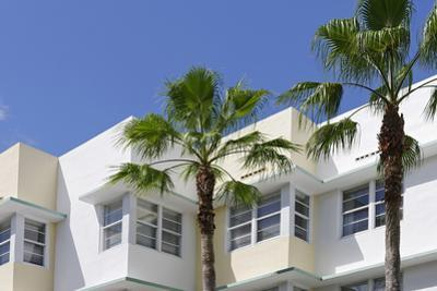 Typical Art Deco Architecture, 8 St, Miami South Beach, Art Deco District, Florida, Usa by Axel Schmies