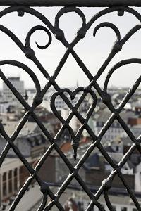 View Through a Grid, Round Tower, Rundetaarn, City, Copenhagen, Denmark, Scandinavia by Axel Schmies
