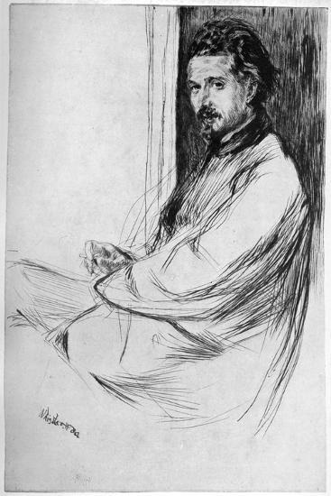 Axenfeld, 1860-James Abbott McNeill Whistler-Giclee Print