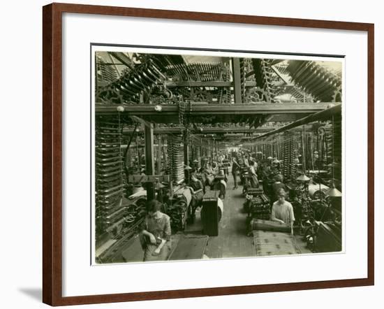 Axminster Weaving, Carpet Factory, 1923-English Photographer-Framed Photographic Print