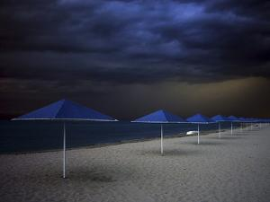 Umbrella Blues by Aydin Aksoy