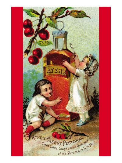 Ayer's Cherry Pectoral--Art Print