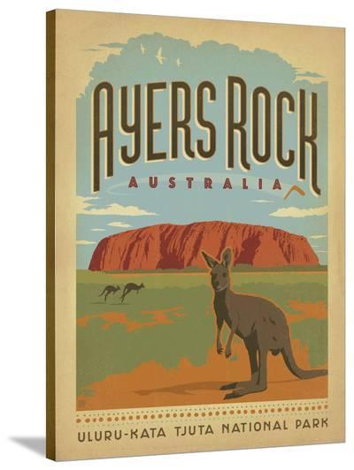 Ayers Rock, Australia-Anderson Design Group-Stretched Canvas Print