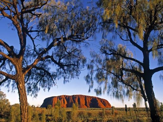 Ayers Rock, Northern Territory, Australia-Doug Pearson-Photographic Print