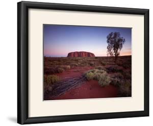 Ayers Rock, Uluru at Sunset