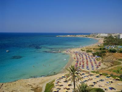 Ayia Napa Beach, Cyprus, Europe-John Miller-Photographic Print