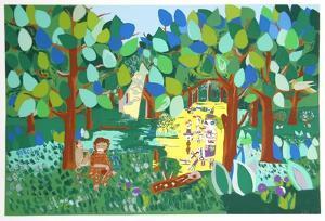 Monkey and Death Dancing by Aymon de Roussy de Sales