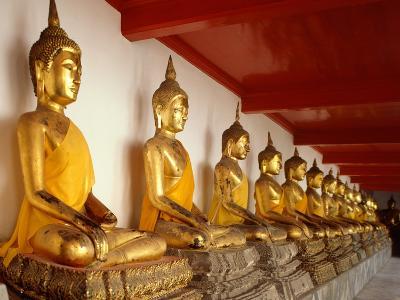 Ayutthaya Period Buddha Images--Photographic Print