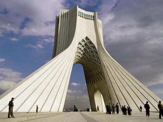 Azadi Tower, Teheran, Iran, Middle East-Sergio Pitamitz-Photographic Print