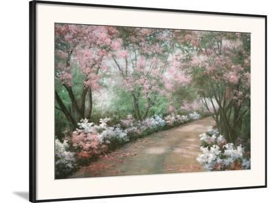 Azalea Walk-Diane Romanello-Framed Art Print