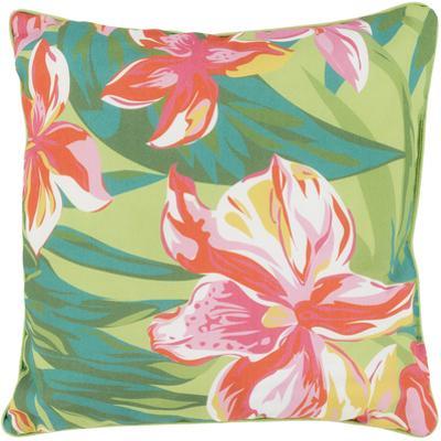 Azaleas Poly Fill Pillow