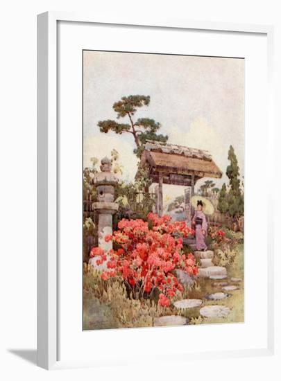 Azaleas-Ella Du Cane-Framed Giclee Print