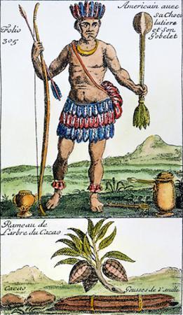 Aztec: Chocolate, 1685