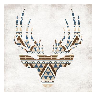 Aztec Deer No Background-Jace Grey-Art Print