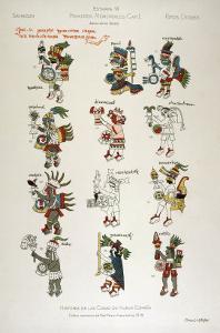 Aztec Gods from the Florentine codex