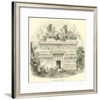 Aztec Ruin in Yucatan--Framed Giclee Print