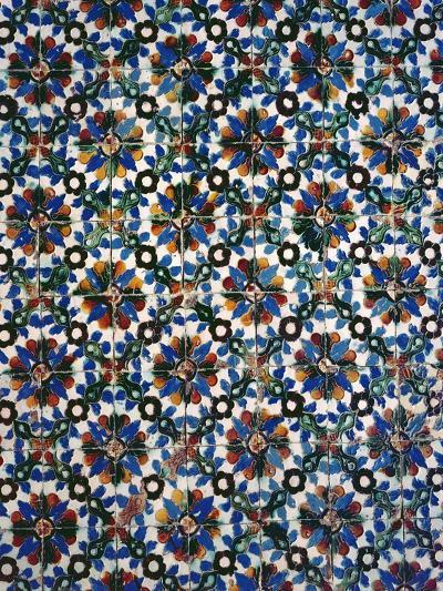 Azuleyos Tiles (Ceramic)--Giclee Print