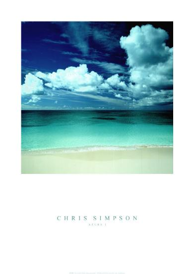 Azure I-Chris Simpson-Art Print