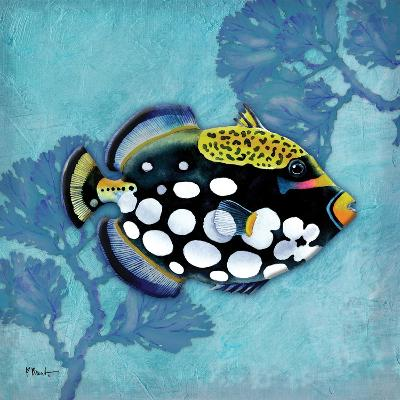 Azure Tropical Fish III-Paul Brent-Art Print