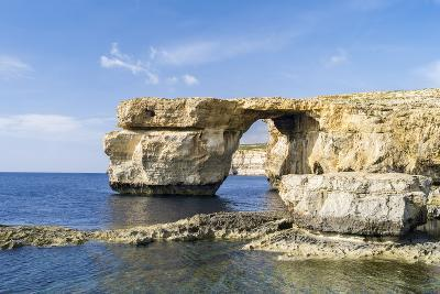 Azure Window, a Natural Arch at the Coast of Gozo, Malta-Martin Zwick-Photographic Print