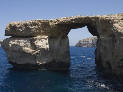 Azure Window at Dwejra Point, Gozo, Malta, Europe-Robert Harding-Photographic Print