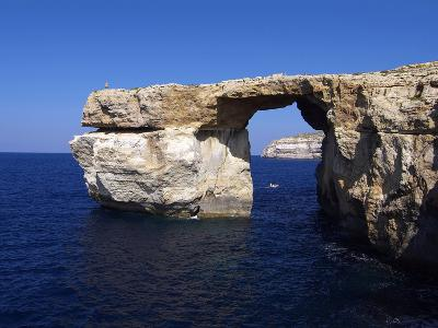 Azure Window, Dwejra Bay, Gozo, Malta, Mediterranean, Europe-Hans Peter Merten-Photographic Print