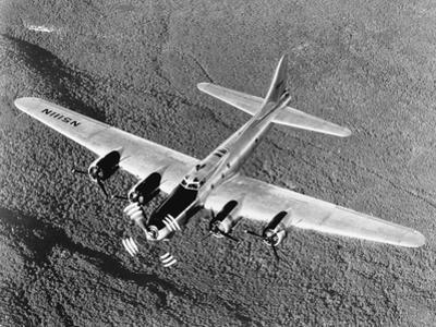 B-17 Flying Fortress in Flight