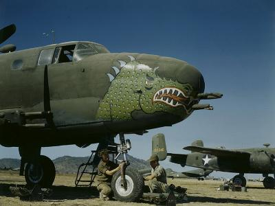 B-24's in Australia-George Silk-Photographic Print