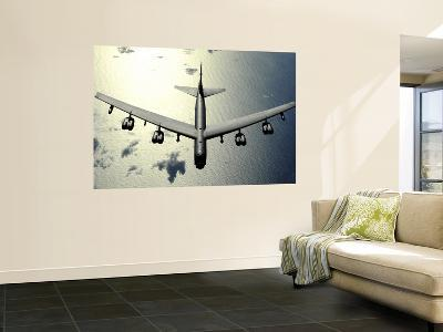 B-52 Stratofortress in Flight over the Pacific Ocean--Wall Mural