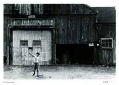 Untitled - Boy and White Square by B. A. King