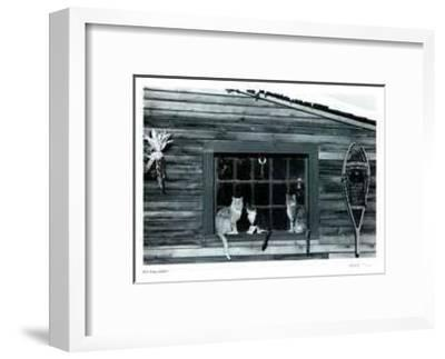 Untitled - Cats in Window
