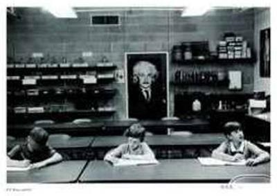 Untitled - Einstein by B. A. King