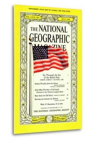 Cover of the July, 1959 National Geographic Magazine