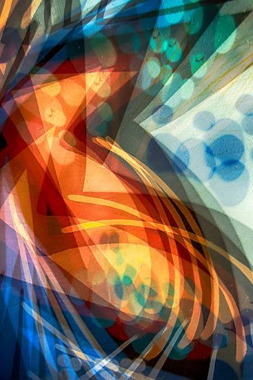 B (Colorful Abstract)-Ursula Abresch-Photographic Print