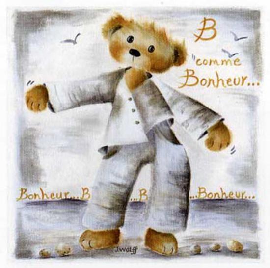 B Comme Bonheur-Jo?lle Wolff-Art Print
