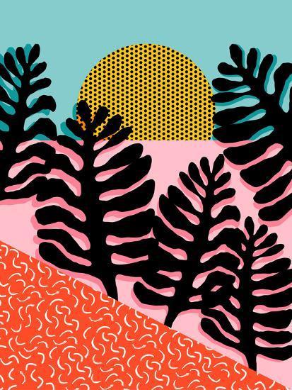 B F F-Wacka Designs-Art Print