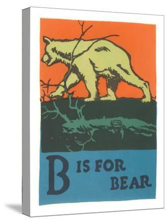 B is for Bear