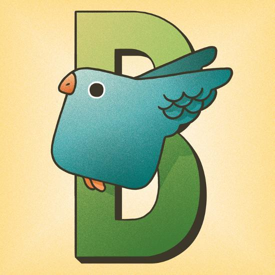 B is for Bird-Cleonique Hilsaca-Art Print