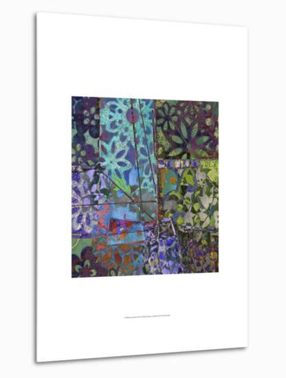 B-Jeweled Deco III-Ricki Mountain-Metal Print