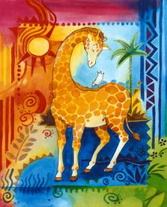 Jungle II, Giraffe by B. Meunier