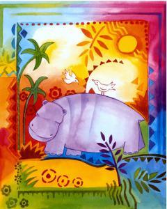 Jungle IV, Hippo by B. Meunier