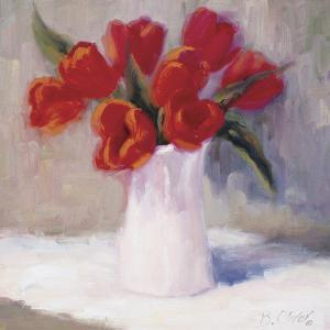 Red Tulips by B^ Oliver