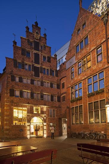 B?ttcherstrasse (Street), Bremen, Germany, Europe-Chris Seba-Photographic Print