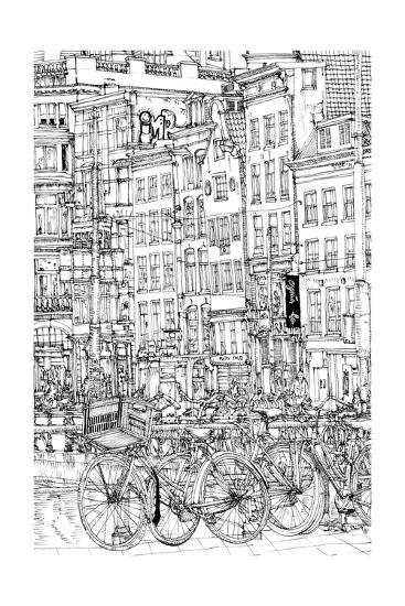 B&W City Scene I-Melissa Wang-Art Print